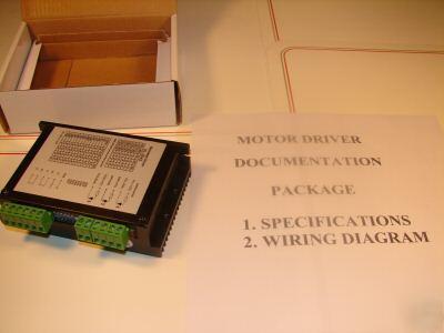 Cnc 4 2 amp stepper motor driver pwm microstepping for 6 amp stepper motor driver