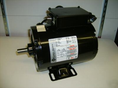 Franklin Electric Motor 1 5hp 115 230v 3450rpm Usa