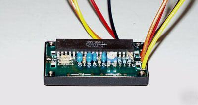 19 99VDC lcd voltmeter module, uses std ICL7106 adc ic