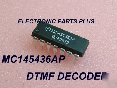 Dtmf decoder ic 145436 ap 14 pin pdip.