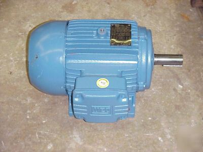 Weg 3 hp 3 phase severe duty electric motor 1xtl1 for Weg severe duty motor