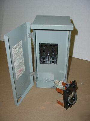 connecticut electric fuse box cat. #06000 type 3r electric fuse box wiring electric fuse box types