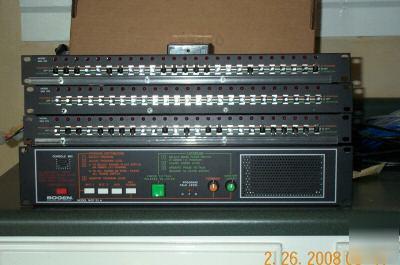 Bogen Mcp35a Control Panel W 3 Intercom Switchbanks