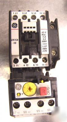 Ge spectra 700 CR7 motor starter contactor CR7 ca/G1TJ