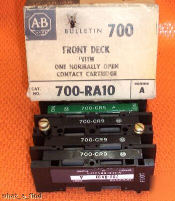 New allen bradley 700-RA10 700CR5 deck contact warranty