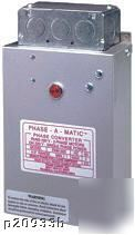 Phase-a-matic pam-600HD static phase converter