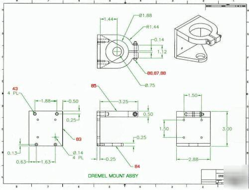 Cnc Router Engraver Design Package Easy To Build Plans