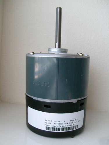 General Electric Ecm 2 3 Series 1 2 Hp Motor 120 240 Ac