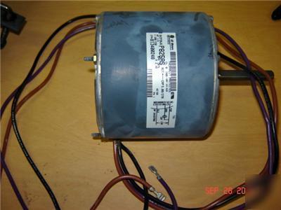 Ge 1 3 hp condensor fan motor 1 phase 220v 1075 p825as for 3 hp single phase 220v motor